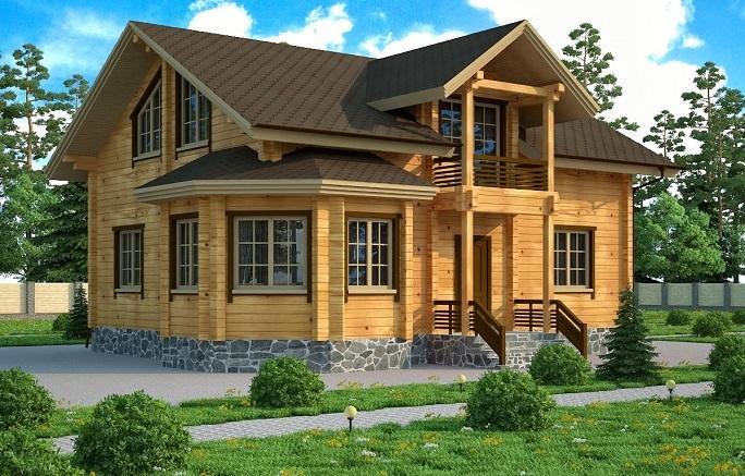 Будинки з клеєного бруса | Ремонт і будівництво
