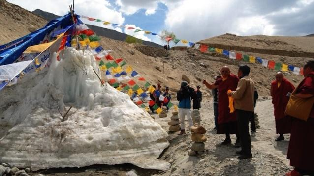 Image result for 1. Special Stamp on Ice Stupa