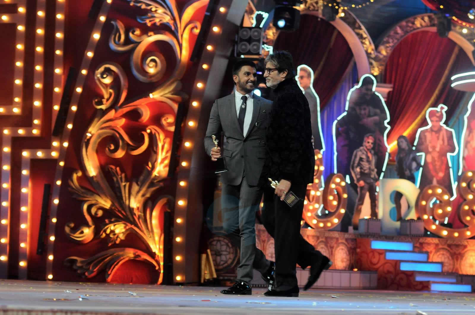 Ranveer Singh and Big-B has been honored with Best Actor (Male)