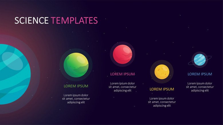 space science powerpoint template