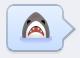 smiley requin