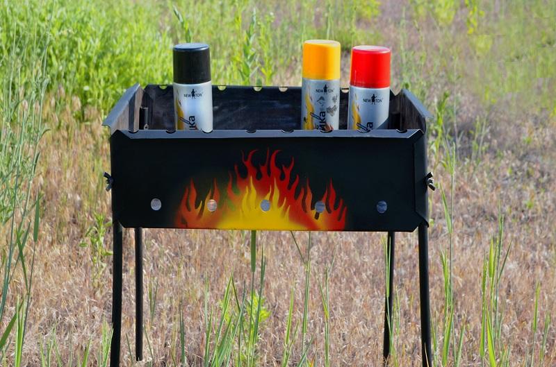 Термостойкие краски по металлу - основные нюансы