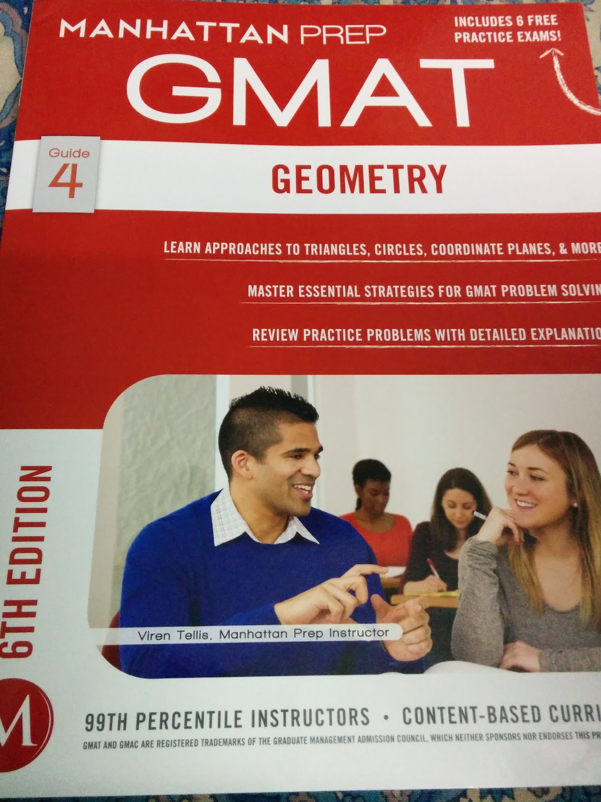 REVIEW: Manhattan GMAT's 6th Edition GEOMETRY Strategy Guide
