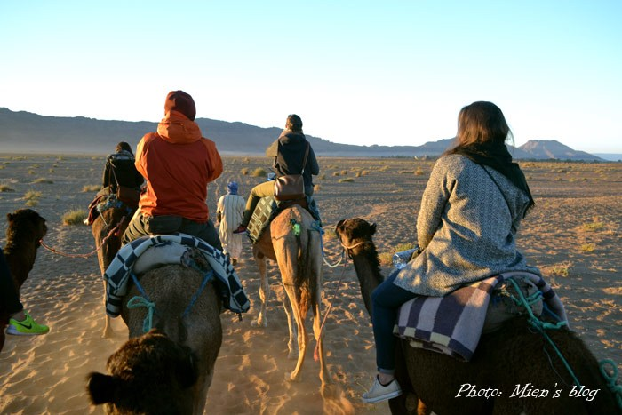 The camel ride was really not my thing, because the poor camels seemed to be treated pretty badly.