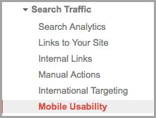 khả năng sử dụng website trên thiết bị di động