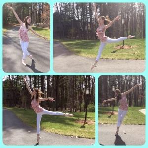 Heather dancing