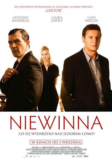 Polski plakat filmu 'Niewinna'
