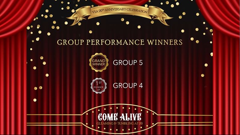 Group Performances Winners