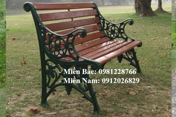 Bán ghế công viên có tựa giả gỗ 1.2m có hoa văn giá rẻ như cho tại Quảng Nam