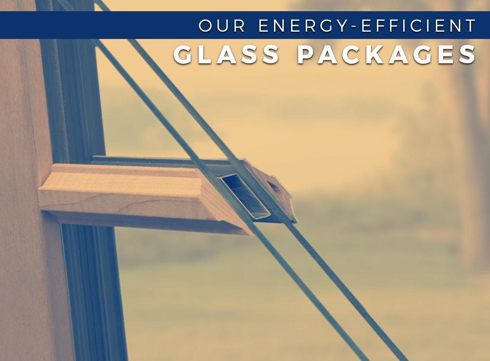 Energy-Efficient Glass Packages