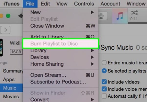 Another important way to use iTunes is to burn CDs.  Were you aware of this feature?