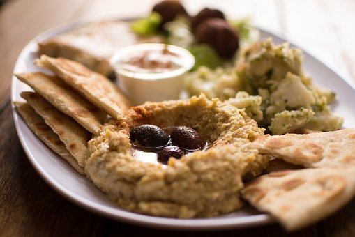 Hummus, Falafel, Authentic Greek