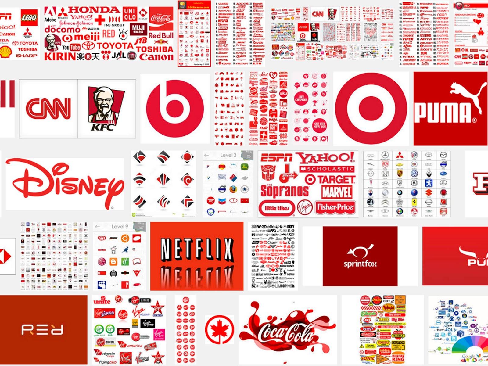 Các thương hiệu nổi tiếng sử dụng màu đỏ làm màu chủ đạo