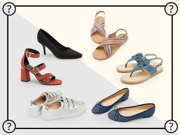 Bạn hoàn toàn có thể xinh đẹp với giày của chúng tôi