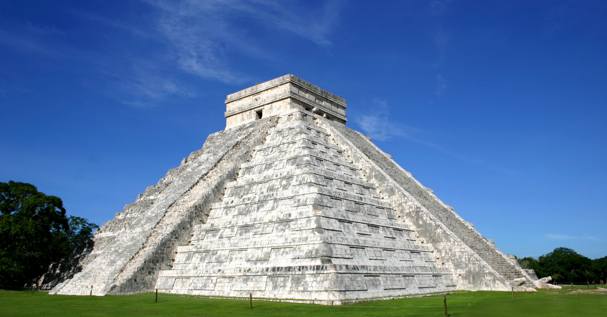 Chichen Itza in Mexico is a place you could visit right now