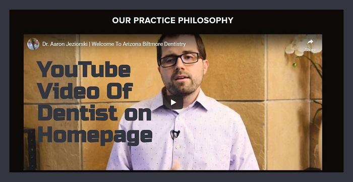 Biltmore Dentistry has several Videos on their homepage