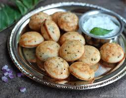 rava paniyaram breakfast recipes