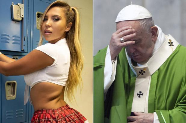Pope Francis Instagram account appears to like model's ...