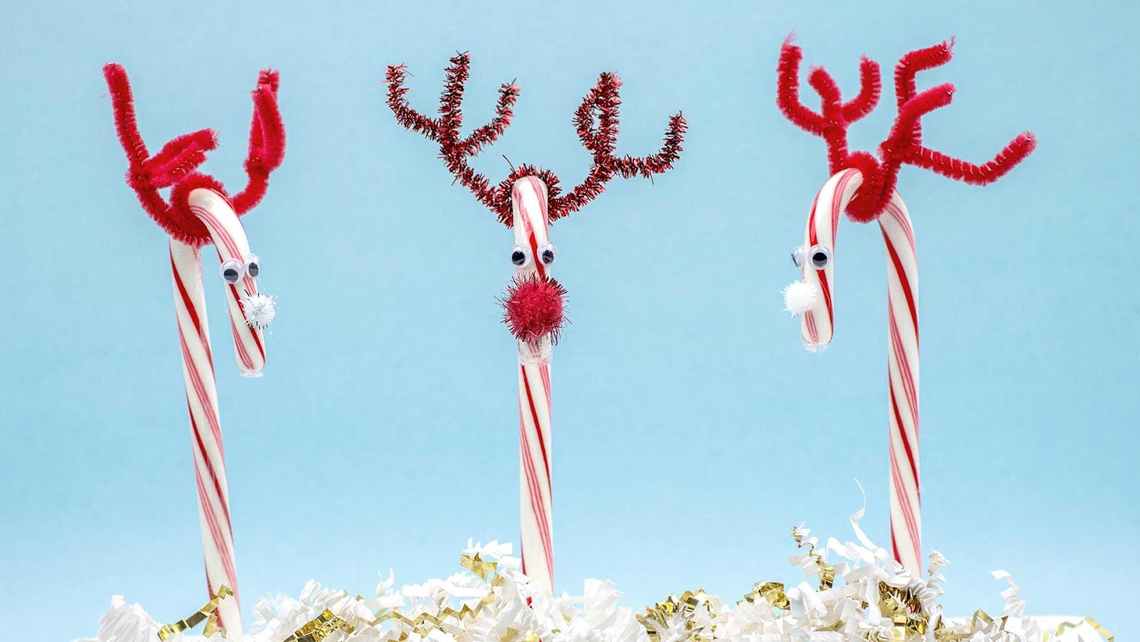 Pipe Cleaner Antlers - Fun Holiday Project