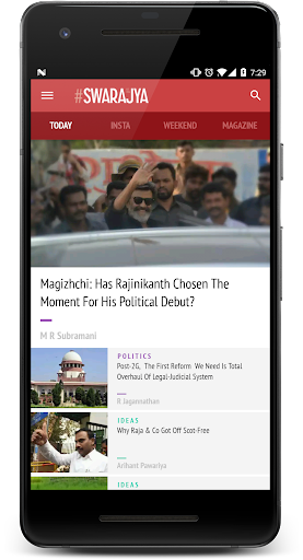 Swarajya- screenshot thumbnail