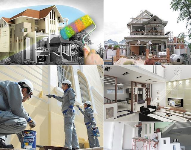 Xử lý hiện tượng xấu trong quá trình sửa nhà