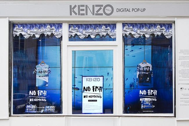 Kenzo 'No Fish, No Nothing' Campaign - Tommy's