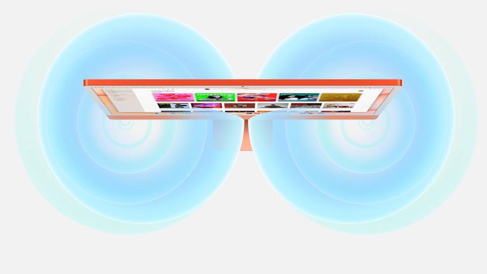 âm thanh iMac M1 2021 24 inch Retina 4.5K