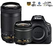 Nikon D5600 Refurbished with 18-55mm and 70-300mm Dual Lens