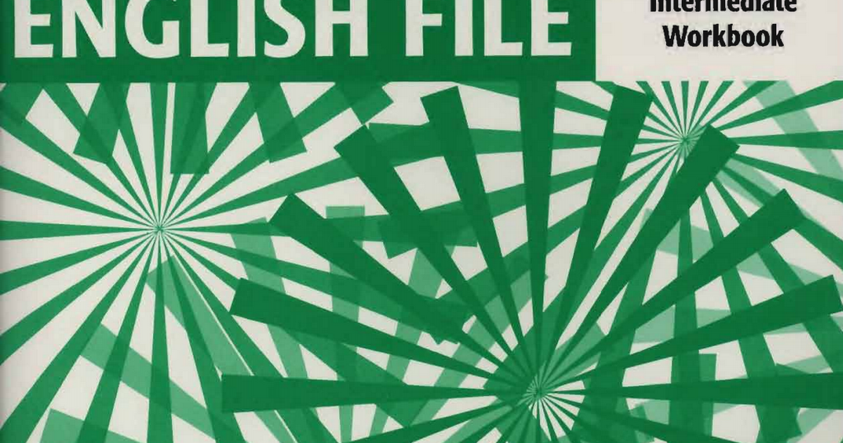new english file intermediate workbook pdf