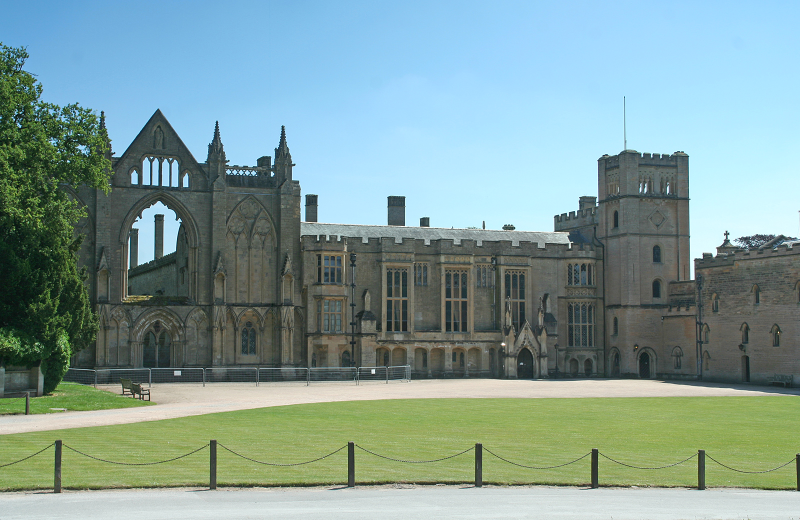 Abadia de Newstead - a casa de Lord Byron