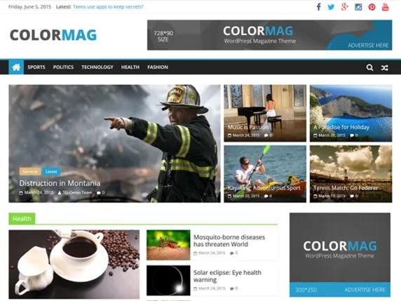 ColorMag Tema WordPress