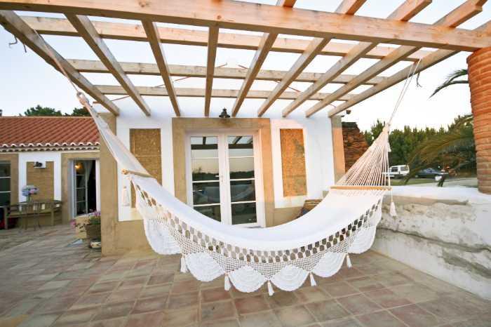 hammock pergola