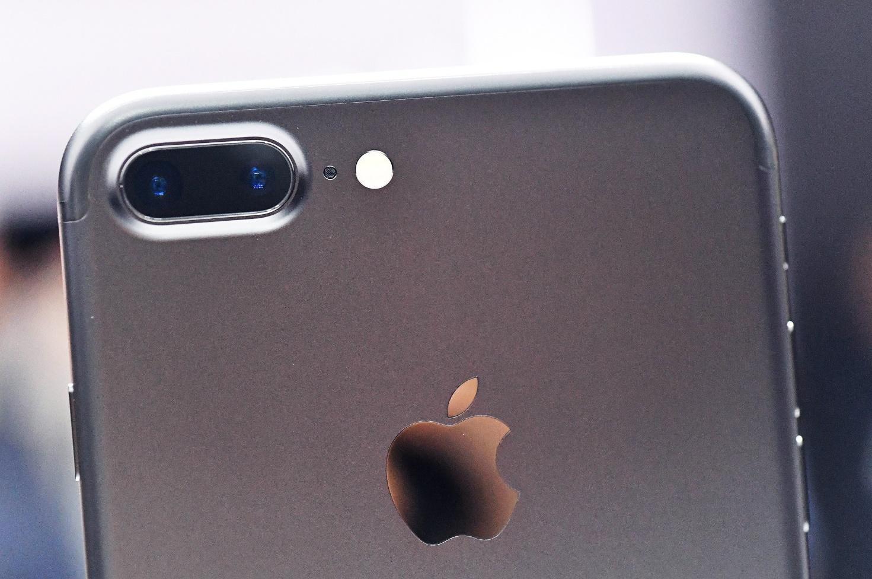 arrière d'iPhone avec appareil photo
