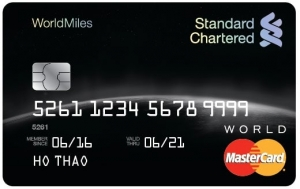 Standard Charter | Thẻ Tín Dụng Priority WorldMiles
