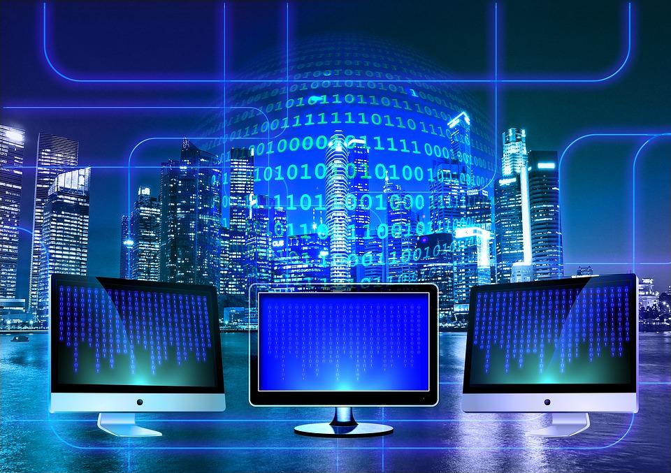モニター, バイナリ, バイナリ システム, コンピューター, バイナリ コード, 1, Null