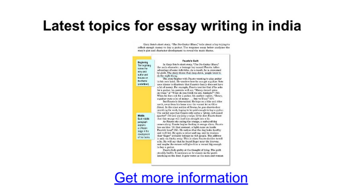 latest topics for essay writing in google docs