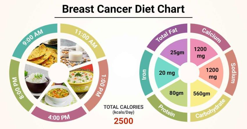 Diet Chart For breast cancer Patient, Breast Cancer Diet chart   Lybrate.