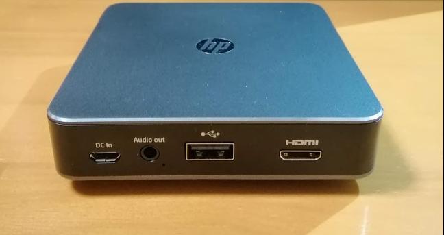 HPモバイルプロジェクターMP100 インターフェース