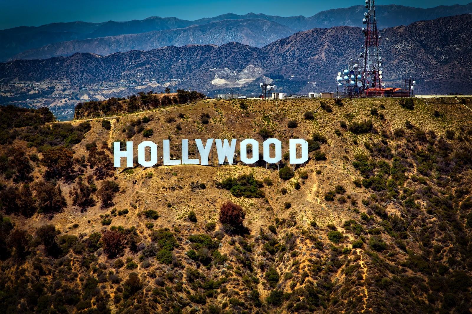 hollywood, california, travel, pxhere