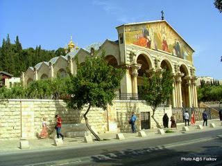 Церковь всех наций в Гефсимании. Экскурсия Иерусалим за полдня. Гид в Иерусалиме Светлана Фиалкова.