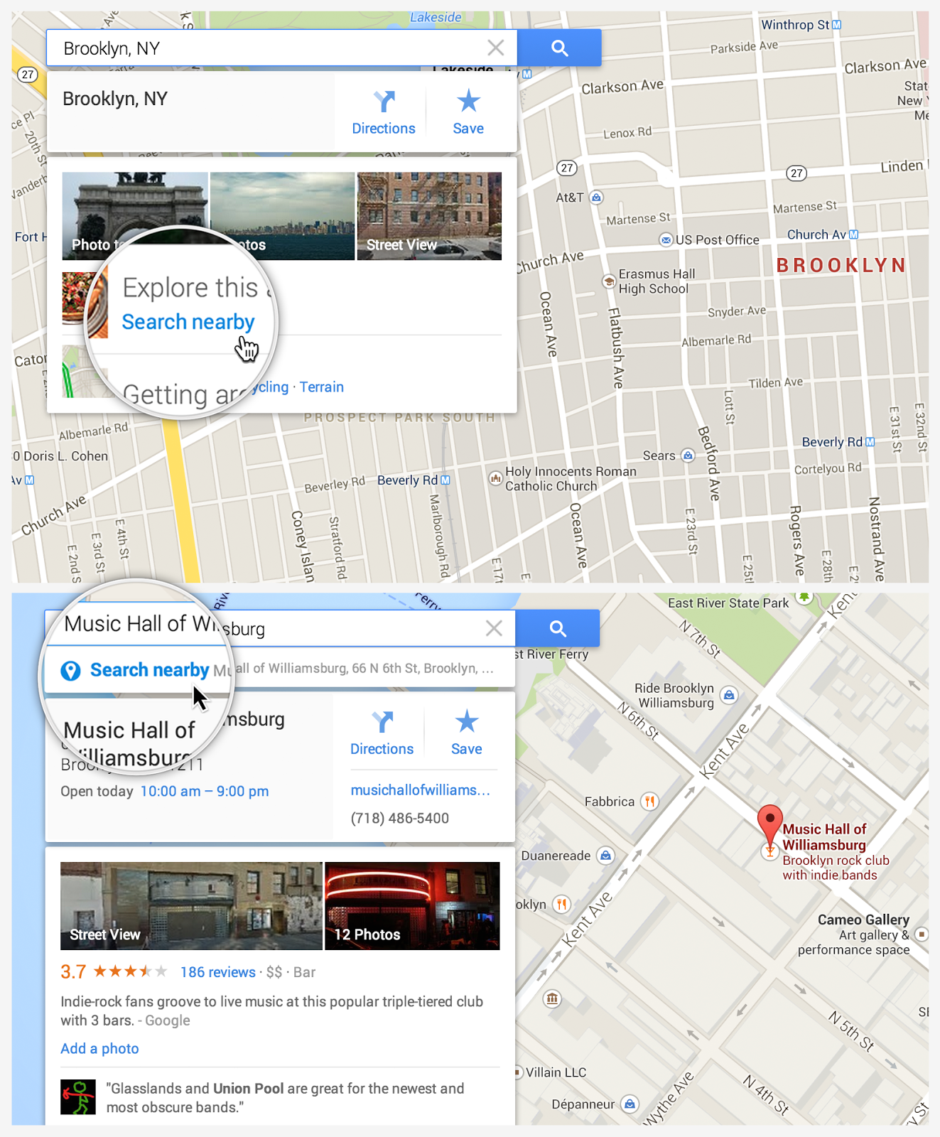 how to search nearby in new google maps google product forums