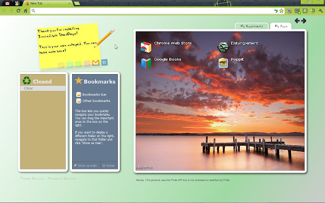 a new customizable start page for chrome easily find your favorite bookmarks and closed tabs take notes as you browse