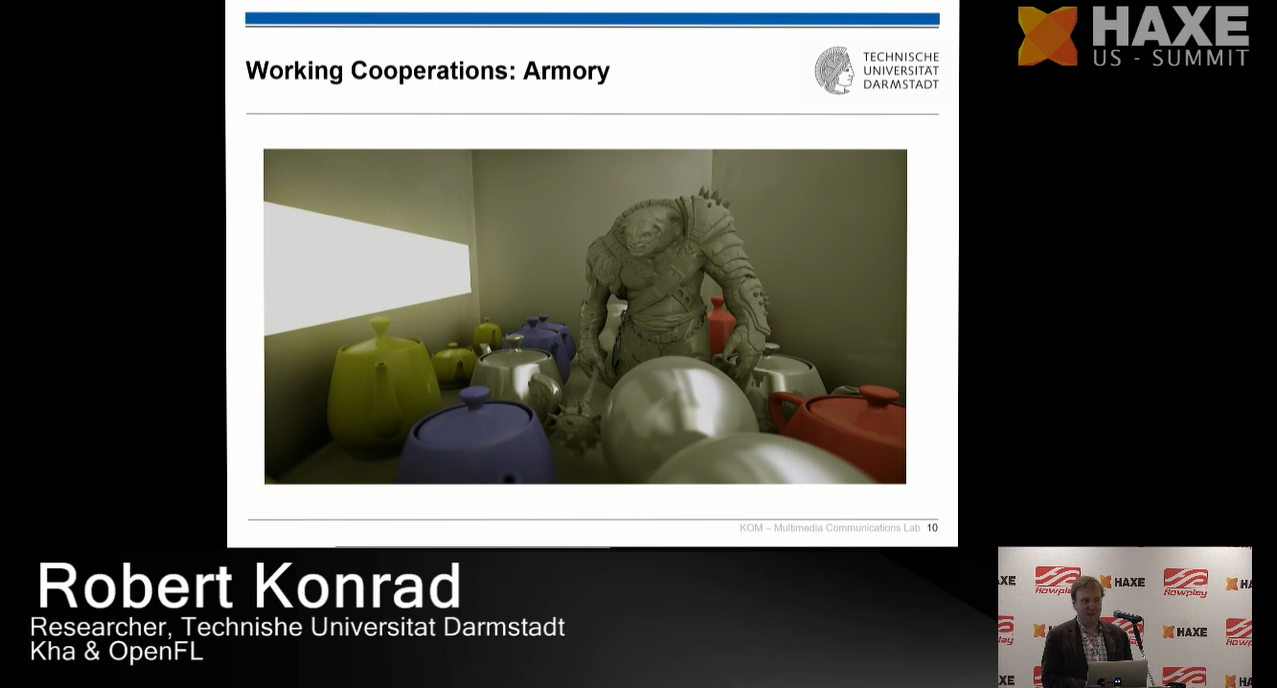Working cooperations: Armory