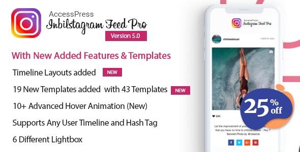 AccessPress Instagram Feed Pro - WordPress Responsive Instagram Feeds Plugin - CodeCanyon Item for Sale