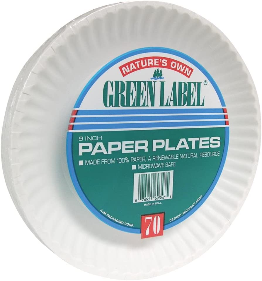 Green Label plates