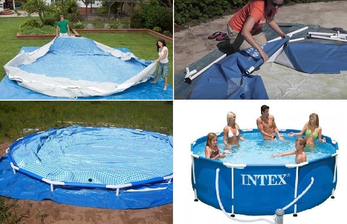 Что лучше: надувной бассейн или каркасный?