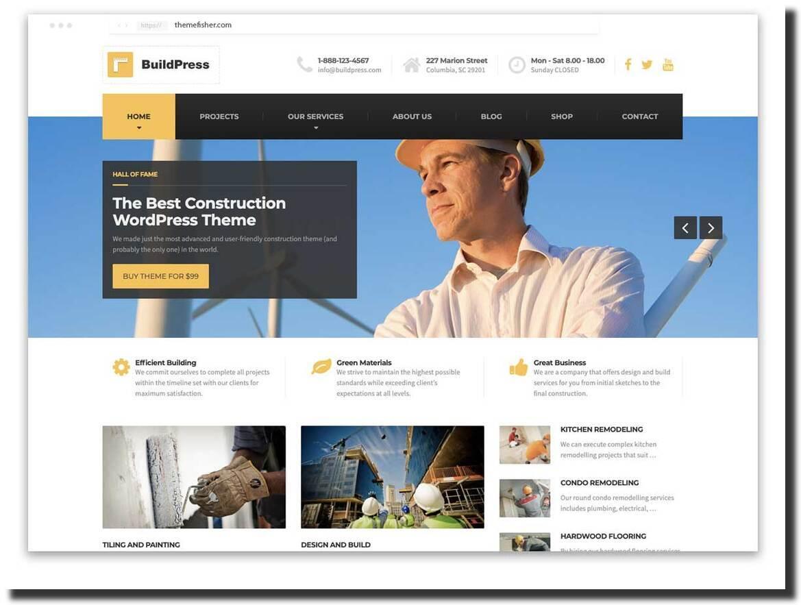 BuildPress WordPress theme