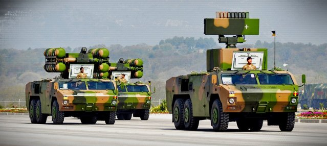 Image 5: HQ-7B/FM-90 SHORAD with 3rd Air Defence Division, Pakistan
