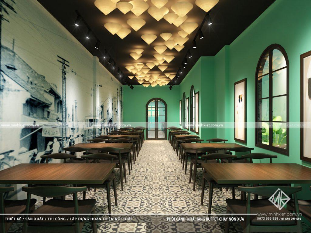 Thiết kế nhà hàng từ 500tr -1 tỷ