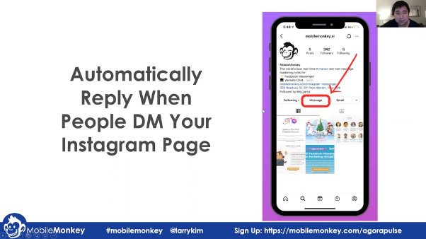 increase engagement on Instagram with instant replies to Instagram DMs
